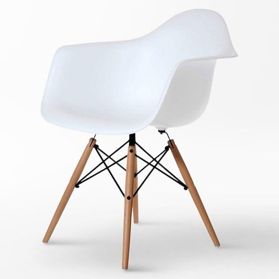 Carezza Designer Chair White