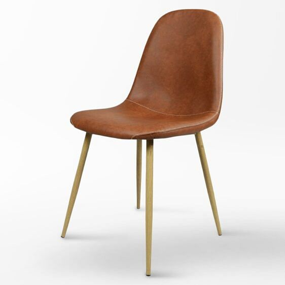Mira Designer Chair Brown