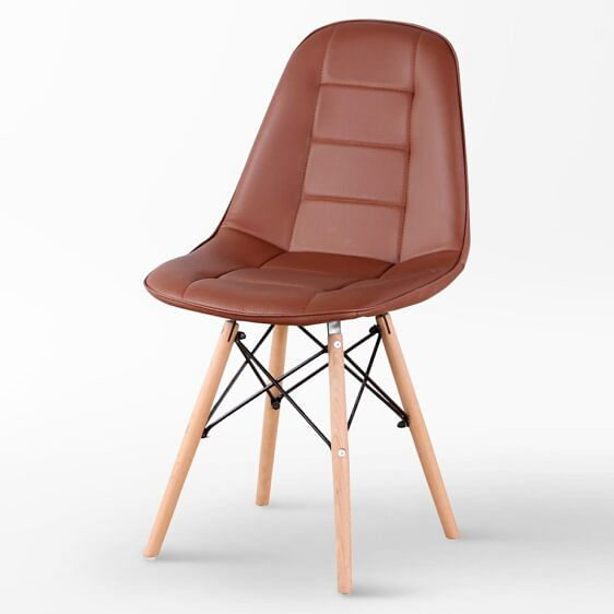 Ellisse Designer Chair Brown
