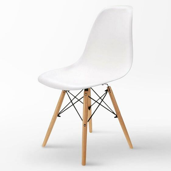 Aria Designer Chair White