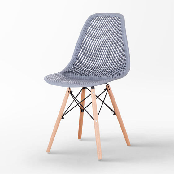 Livio Designer Chair Grey